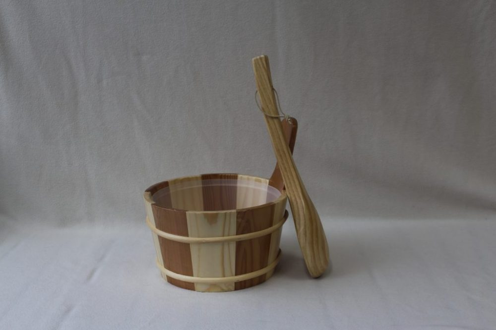 Two Timber Sauna Bucket